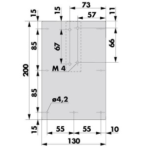 Mounting plate - 205212