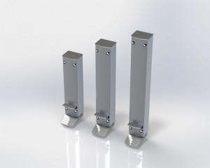 door holder ZE Design Line long strokes using your foot to block doors in position