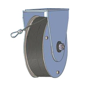 Spring Rope Pulley Diameter Series 177