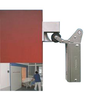 Mechanical timer sliding door closer DICTATOR Mechanical Timer on door