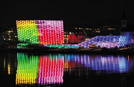 The Ars Electronica museum