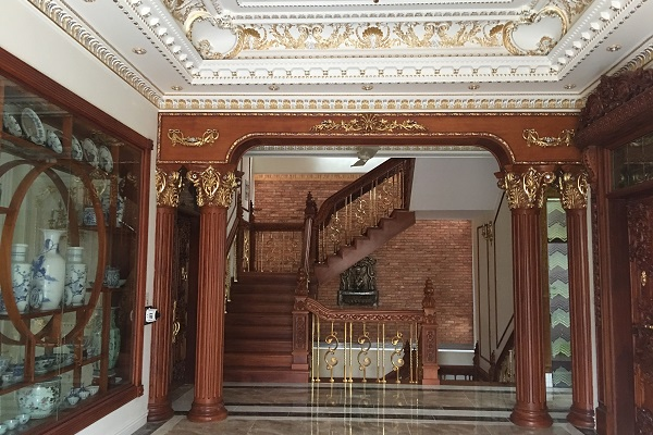 DHE Lift in Vietnam mansion