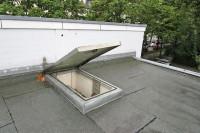 gas springs öffnen Dachklappe sanft und ohne Kraftanstrengung