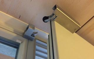Door damper VS 2000 horizontal on house door
