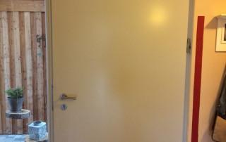 Door damper VS 2000 horizontal on entrance door