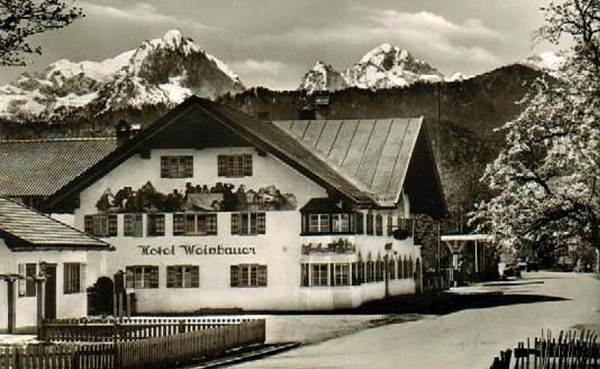 Hotel Weinbauer around 1950