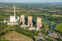 Germany, Europe, Coal Fired Power Station, Cooling Tower