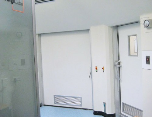 Hygiene regulations in hospitals – retrofitting of interlock control system