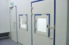 Interlocks system in clean room for safe processes