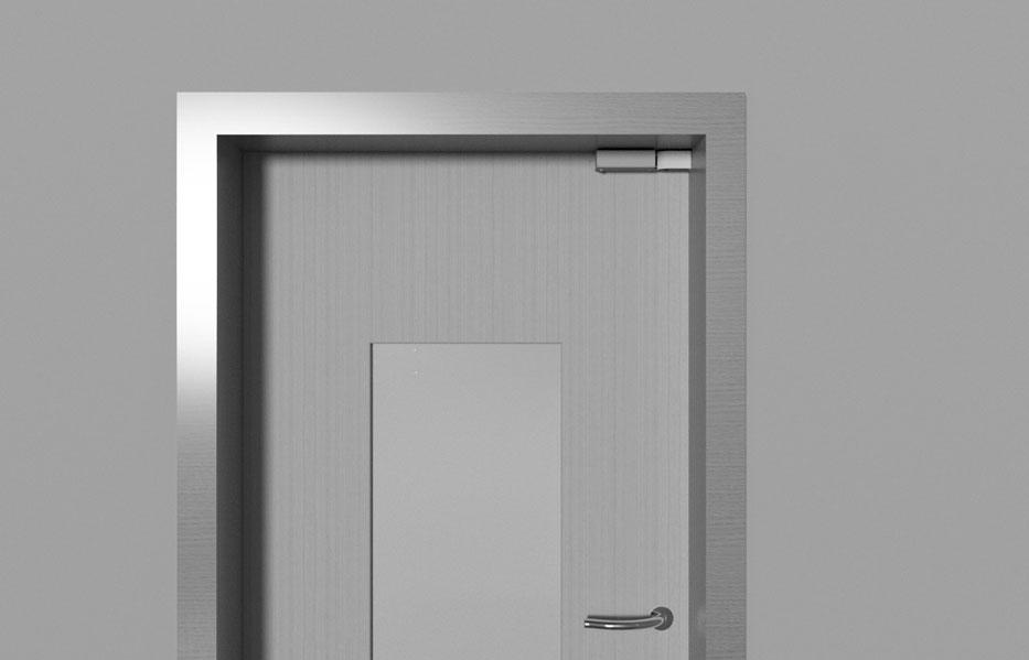 Door Damper R 1400 Installed Horizontally