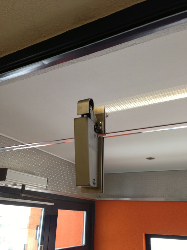 Door Dampers Slow Down The Closing And Prevent Doors From Slamming