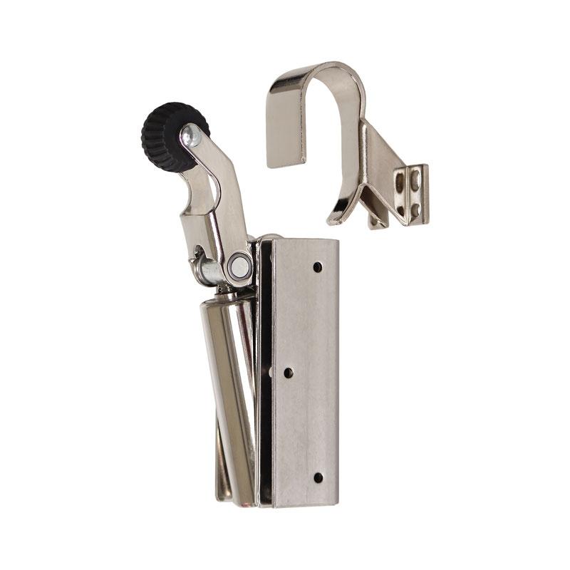 Door damper Z 1100 nickel plated