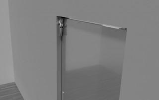 Door damper Z 1100 on sliding door