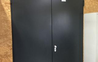 Door damper V 1600F fire-protection door