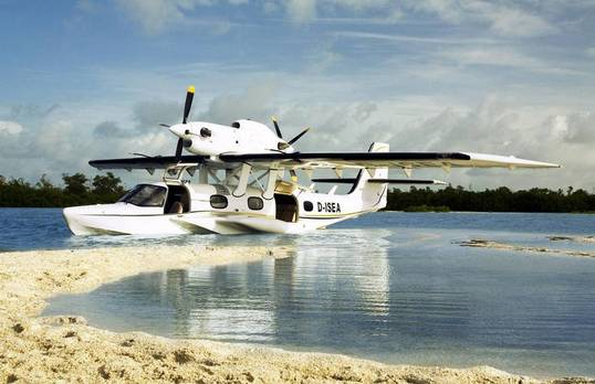 Dornier seaplane gas springs