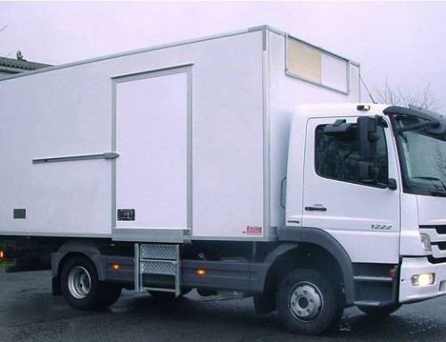 Swing Door Hinges for Superstructure of Refrigerated Truck