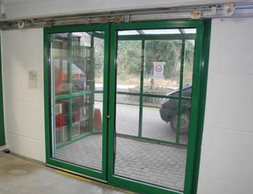 Door closer for sliding doors – the economic alternative to a sliding door operator