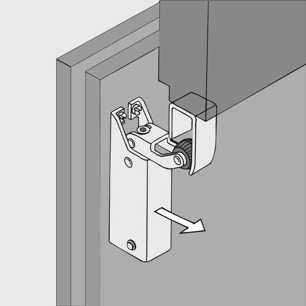 Door Check R1400 vertical  sc 1 st  Dictator gas springs door closers gate drives d&ers & Door Check R1400 vertical - Dictator